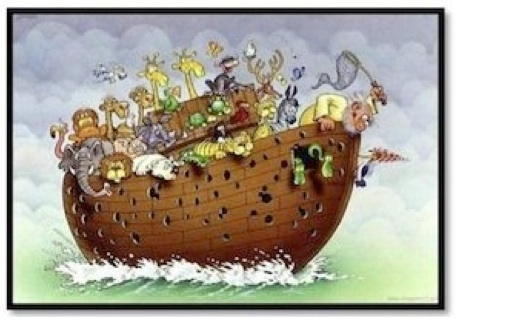Noah's Ark image for ESL lesson assessment for the film 2012