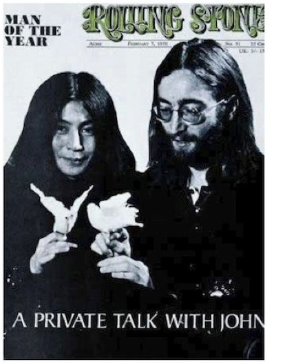 John Lennon and Yoko Ono for ESL lesson for the film Almost Famous
