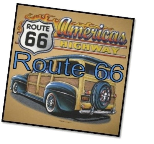 Route 66 poster for the film Cars, ESL lesson