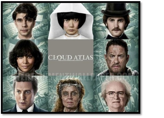 Face collage for the film Cloud Atlas in support of the assessments for the ESL lesson