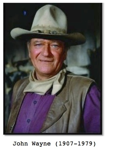John Wayne photo for ESL film lesson for the movie Cowboys and Aliens
