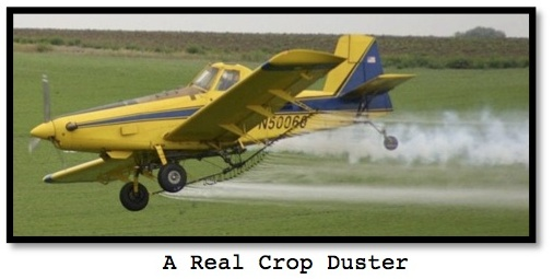 Crop duster for ESL lesson for movie, Planes