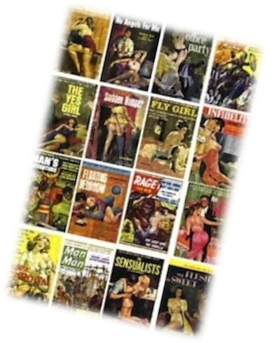 Magazine covers for ESL lesson for Pulp Fiction