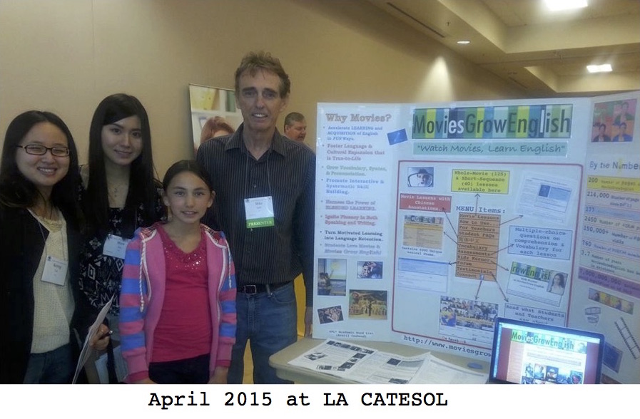 2015 CATESOL Conferences, LA in April, State-Wide in November
