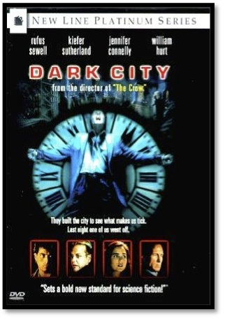 Movie poster for Dark City at Movies Grow English for ESL Lessons