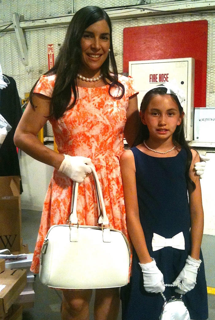 Theresa Laib with Julie Abeyta at Haunted Hathaways set