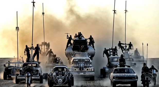 Immortan Joe's convoy. ESL lessons for movies at Movies Grow English