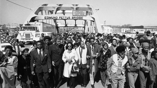Edmund Pettus Bridge 1965, ESL lessons at Movies Grow English