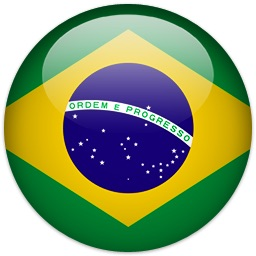 Flag of Brazil.  ESL lessons at Movies Grow English