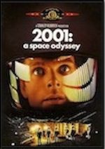Poster for ESL lesson for 2001: A Space Odyssey