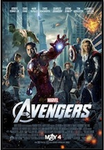 Poster for ESL Lesson The Avengers