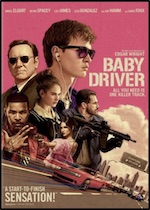 Baby Driver ESL movie-lesson poster