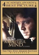 A Beautiful Mind ESL movie-lesson poster