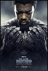 Black Panther ESL movie-lesson poster