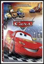 Cars, whole-movie ESL lesson poster