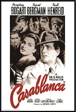 Casablanca movie ESL lesson poster