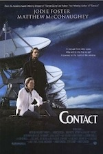 Contact, whole-movie ESL lesson poster