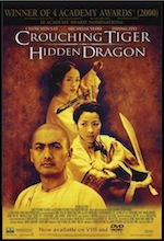 Crouching Tiger Hidden Dragon ESL movie-lesson poster