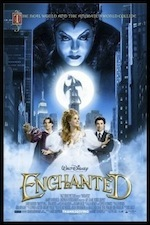 Enchanted ESL movie-lesson poster