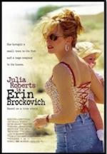 Erin Brockovich, whole-movie ESL lesson poster
