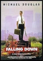 Falling Down, whole-movie ESL lesson poster