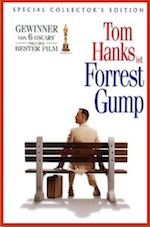 Forrest Gump, whole-movie ESL lesson poster