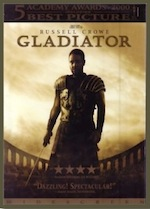 Gladiator, whole-movie ESL lesson poster