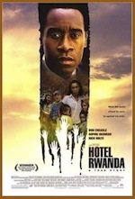 Hotel Rwanda, whole-movie ESL lesson poster