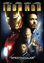 Iron Man ESL movie-lesson poster