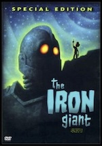 The Iron Giant, whole-movie ESL lesson poster