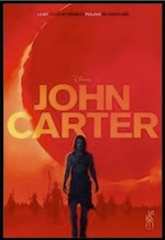 John Carter ESL movie-lesson poster