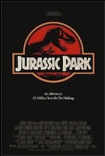Jurassic Park, whole-movie ESL lesson poster
