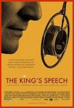 The King's Speech, whole-movie ESL lesson poster