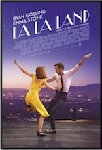Poster and portal for whole-movie ESL lesson for La La Land at Movies Grow English
