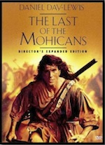 Last of the Mohicans ESL movie-lesson poster