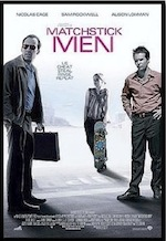 Matchstick Men, whole-movie ESL lesson poster