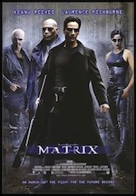The Matrix, whole-movie ESL lesson poster
