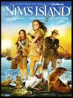 Nim's Island, whole-movie ESL lesson poster