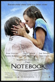 Poster for the whole-movie ESL lesson for The Notebook starring Ryan Gosling