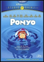 Ponyo, whole-movie ESL lesson poster