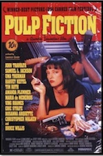 Pulp Fiction, whole-movie ESL lesson poster