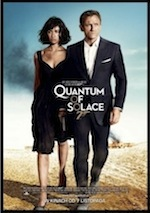 Quantum of Solace ESL movie-lesson poster