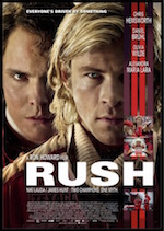 Poster for Rush on home page of Movies Grow English, ESL Lessons for movies