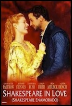 Shakespeare in Love, whole-movie ESL lesson poster