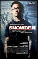 Poster portal for the whole-movie ESL lesson for Snowden starring Josepg Gordon-Levitt  at Movies Grow English