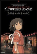 Spirited Away, whole-movie ESL lesson poster