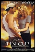 Tin Cup, whole-movie ESL lesson poster