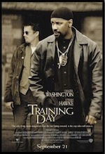 Training Day, whole-movie ESL lesson poster