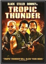 Tropic Thunder, whole-movie ESL lesson poster