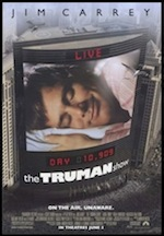 The Truman Show, whole-movie ESL lesson poster